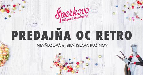 Kreatívne potreby Šperkovo OC RETRO Bratislava