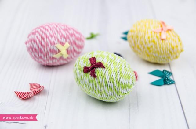 Kreatívny návod na veľkonočné omotávané vajíčka