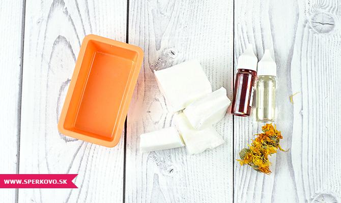 Návod na bylinkové mydlo s nechtíkom