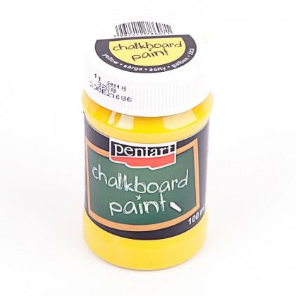 Tabuľová farba 100 ml žltá