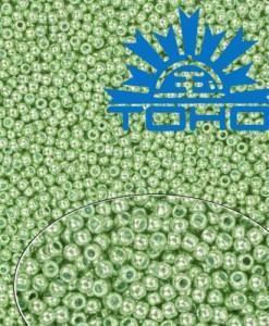 TOHO korálkyGalvanized Mint Green