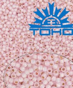TOHO korálky Milky Soft Pink