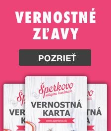 Vernostné karty Šperkovo Kreatívne potreby Bratislava