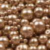 91f8c9f52 Voskované perly béžová svetlá 25 g - Šperkovo.sk