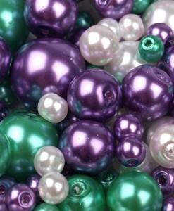 voskovane-perly-mix-fialovo-zeleny-25-g