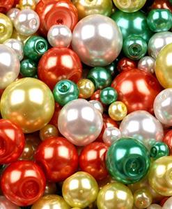 Voskované a sklenené perly